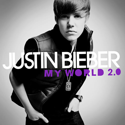 justin bieber my world 2.0 cd cover. justin bieber cd cover my
