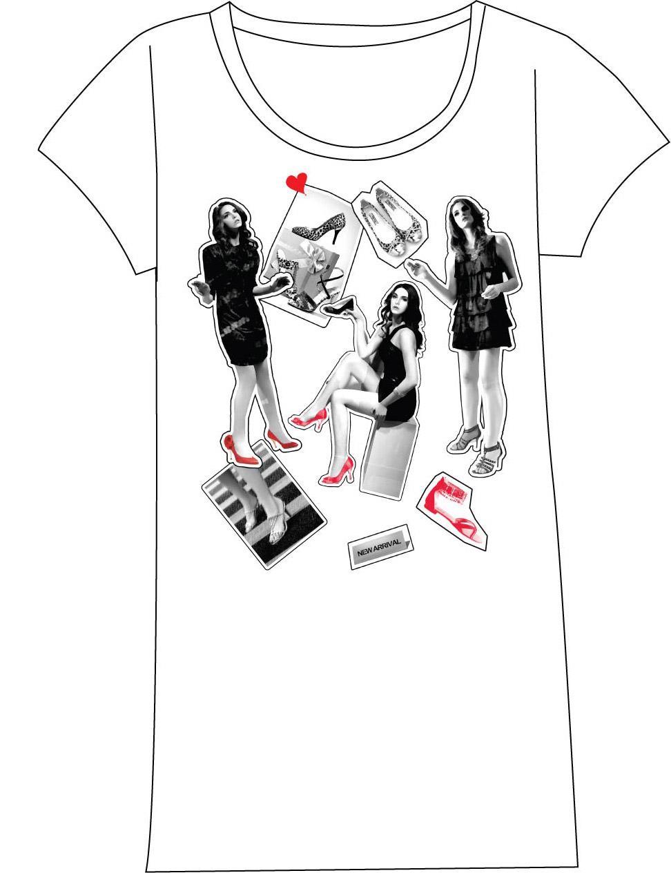 Anna Design T Shirt Design For Shoes Company