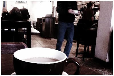politics and prose coffee shop, washington dc