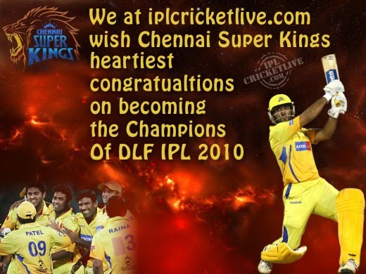 V24s guys ipl 2010 final match csk vs mi - Night of champions 2010 match card ...