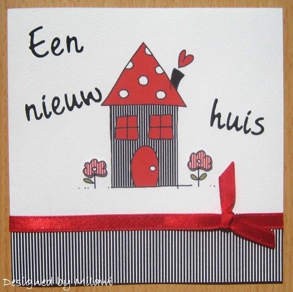 Car d elicious nog een nieuw huis kaart - Nieuw huis binneninrichting ...