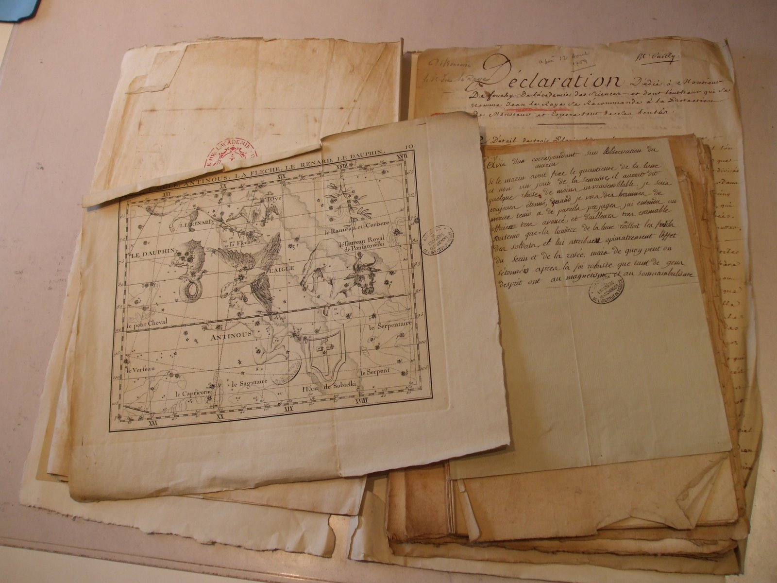400-Year-Old Documents
