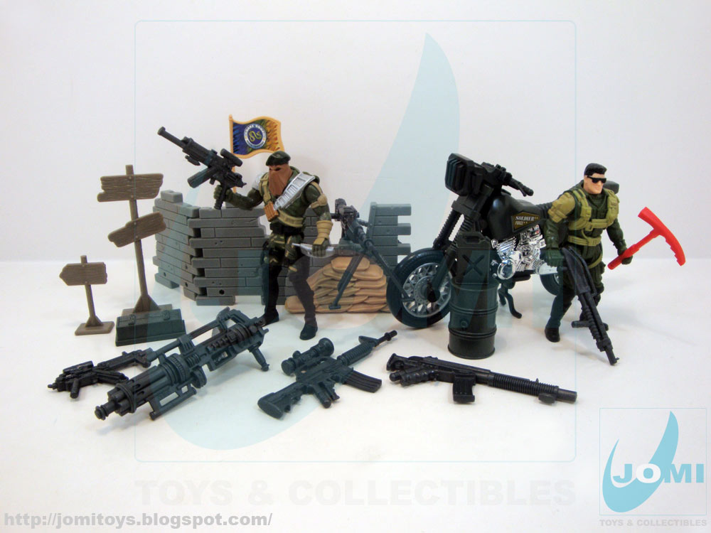 Soldier Force 9 Elicottero : Jomi toys under maintenance soldier force series i