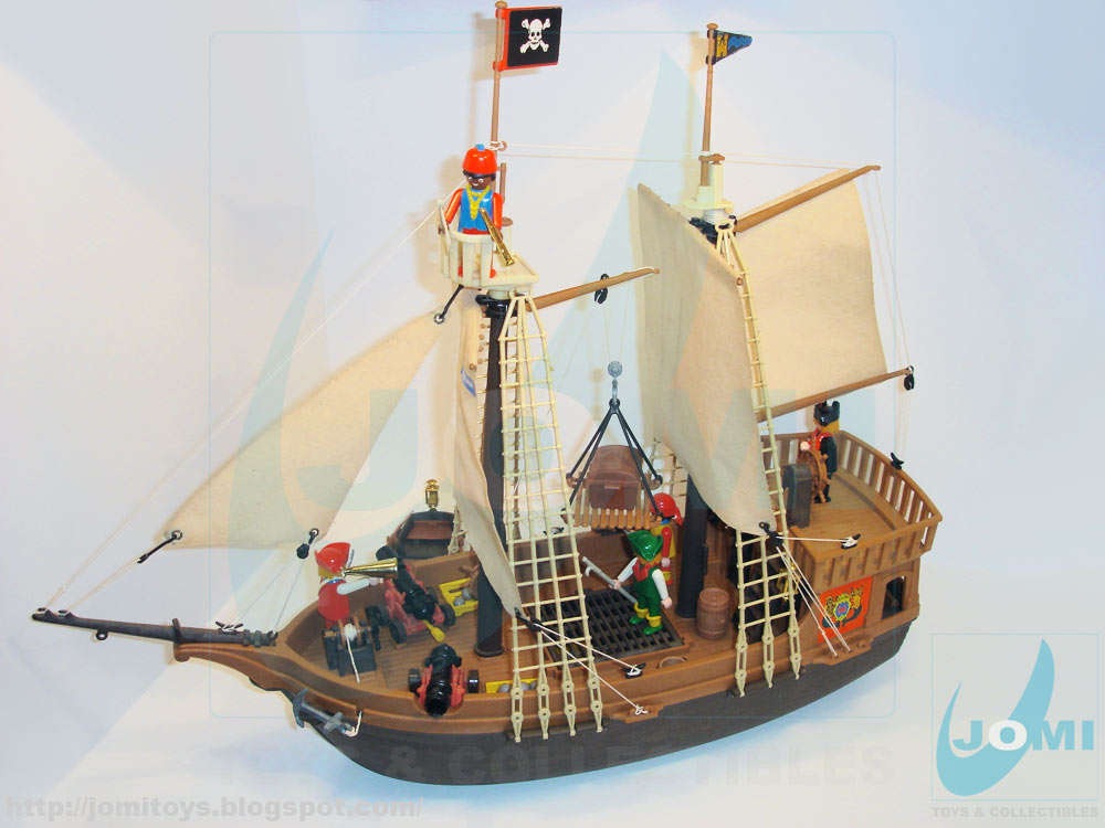 jomi toys under maintenance 3050 pirate ship updated. Black Bedroom Furniture Sets. Home Design Ideas