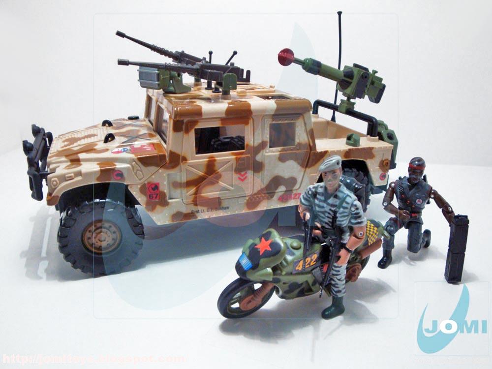 Jomi toys the corps 1997 atk command vehicle