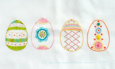Q is for Quilter   Blog Archive   Easter Hand Embroidery Designs