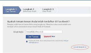 Cara Membuat Facebook Bagian 3