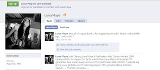 foto luna maya facebook