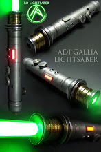 Adi Gallia lightsaber