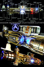 Anakin Skywalker Lightsaber Cutaway