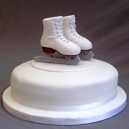 Ice Skating Cake Topper Uk