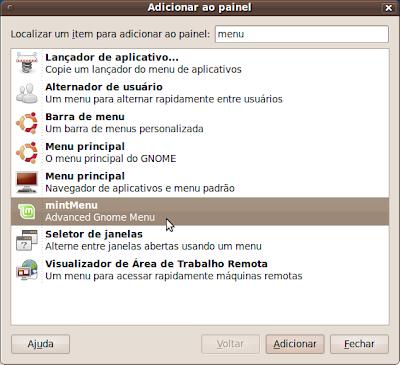Adicionar ao painel - Screenshot