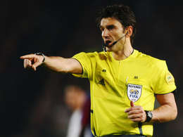 Swiss referee Massimo Busacca