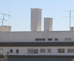 Antena instalada na Av. Brasília N.22