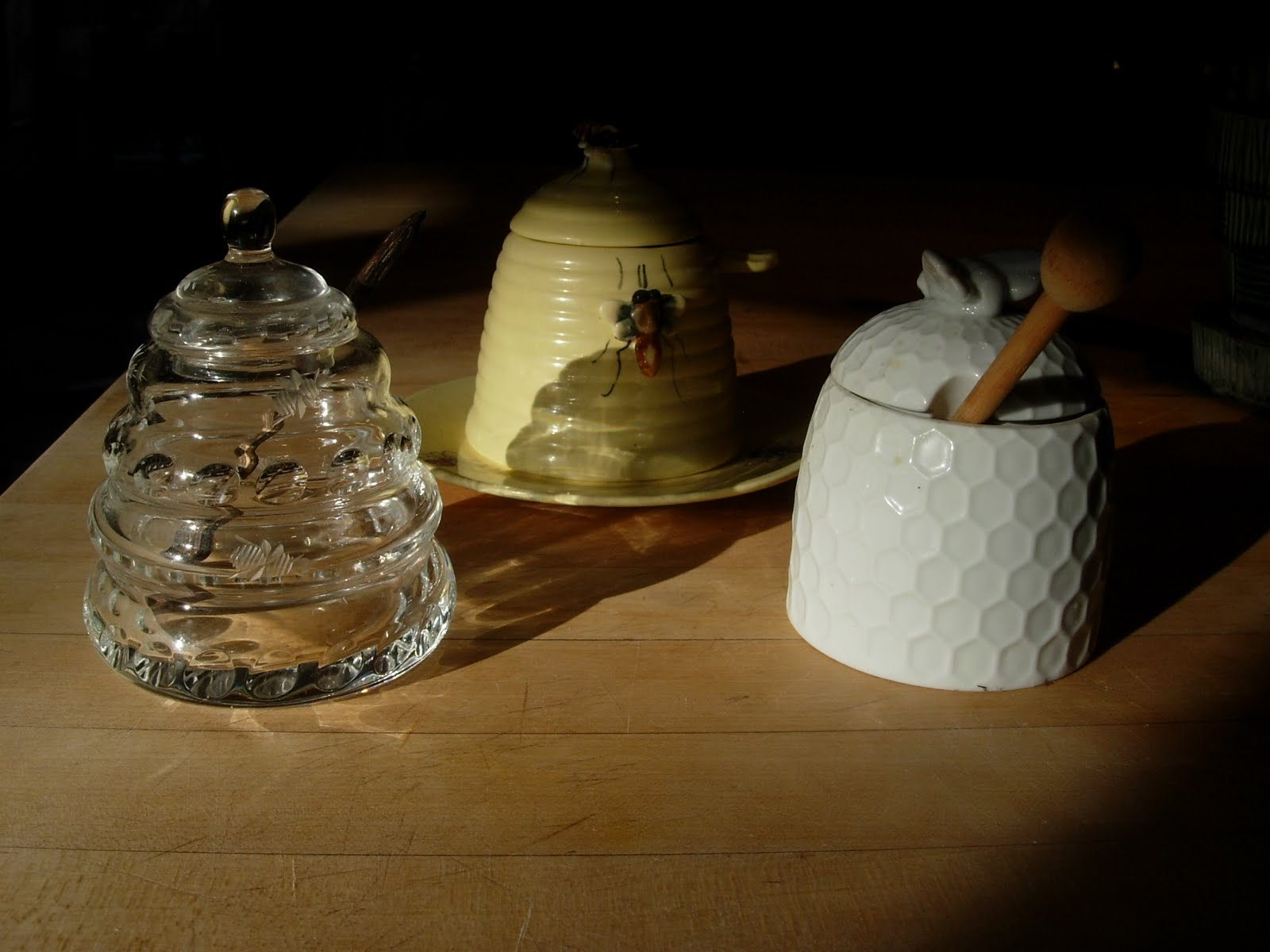 Beehive ornament - A Beekeeper Nutcracker A Beehive Ornament And An Array Of Honey Utensils