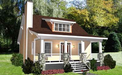 Cottage Plans - Victorian and Caribbean House Plans