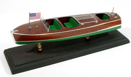 1929 Chris Craft Triple Cockpit Runabout Model from Megahobby