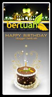 logo Ulang Tahun Blogger Pekanbaru, blogger bertuah