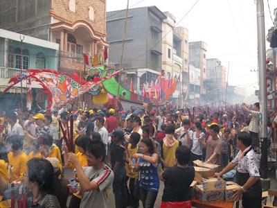 Festival Bakar Tongkang Bagansiapiapi