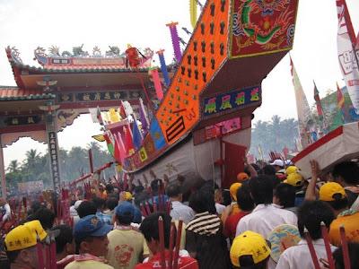 Festival Bakar Tongkang Wisata Riau