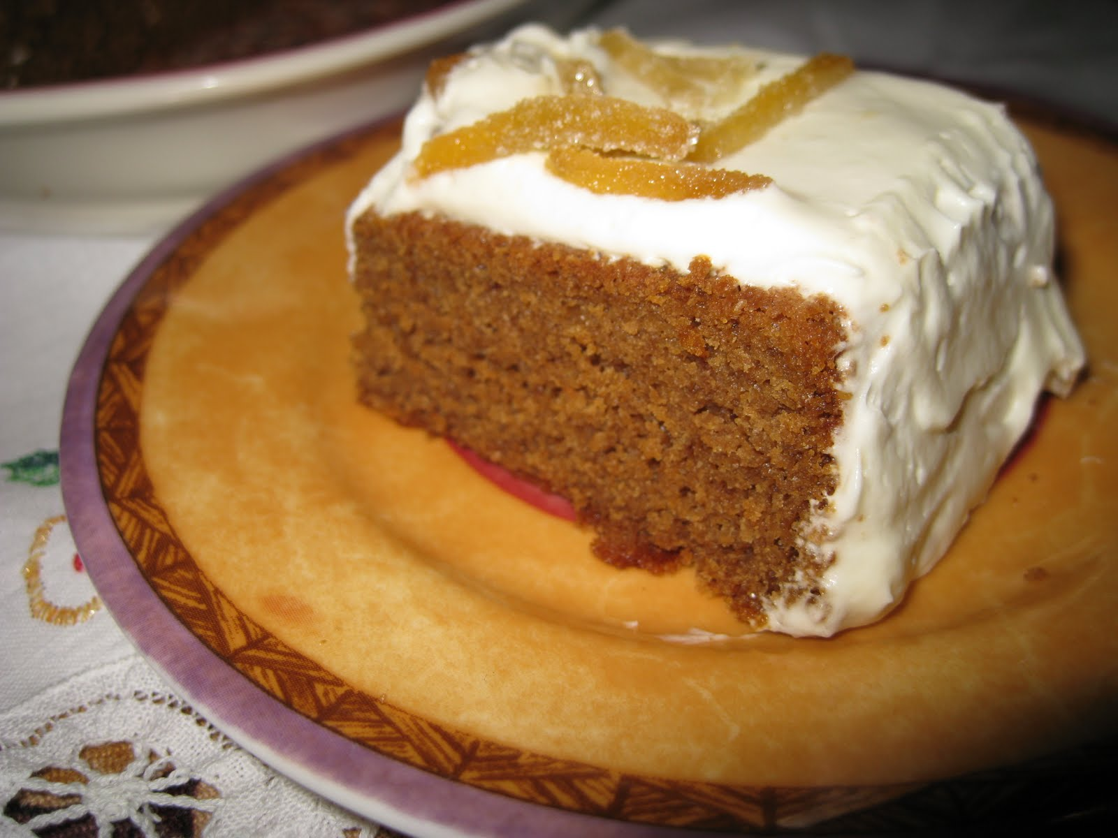 Healthy Foodies: Gingerbread cake for Mom