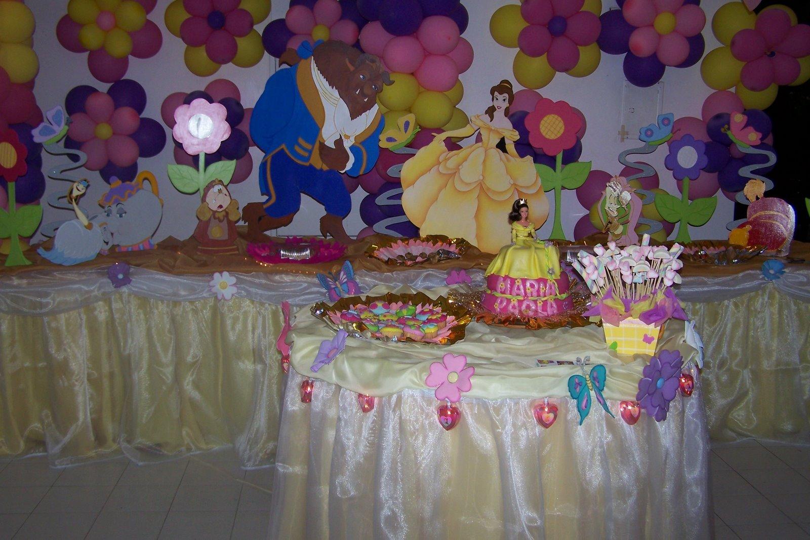 Fiesta De La Bella Y Bestia