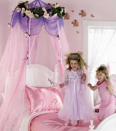 Cositas m as dosel para camas de princesas - Cortinas infantiles originales ...