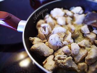 recipes - chiken bites with lemon juice