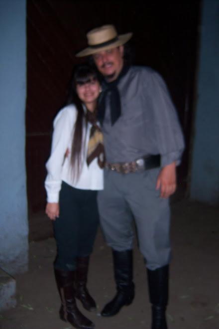 Antonella y Adrian Maggi