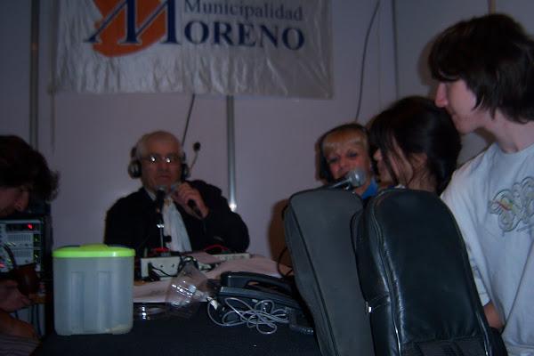 En la Radio Abierta de Plaza Buján