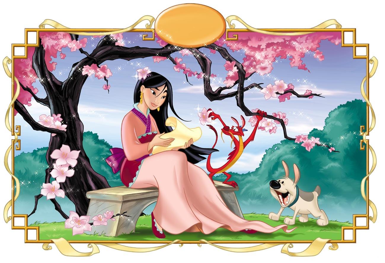 Adoptando una ilusión: Mulan: La princesa china de Disney