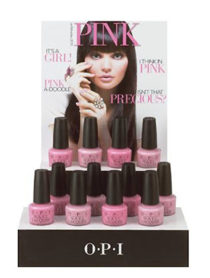 opi nail pink collection
