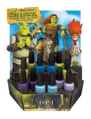 opi nail shrek collection