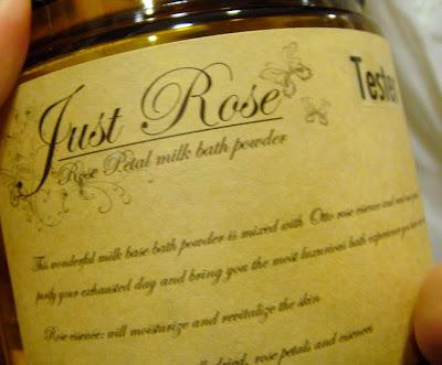 just rose rose milk bath