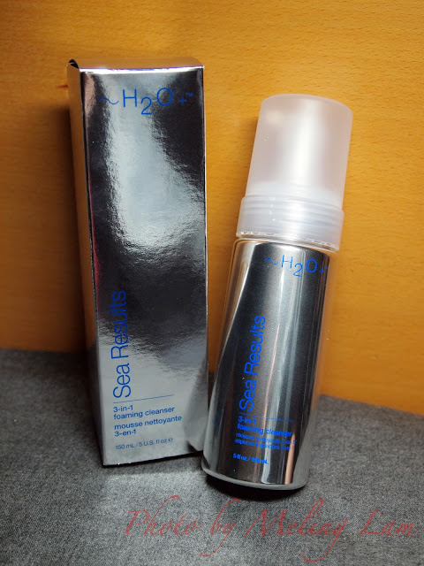 ~H2O+ Sea Results 3-in-1 Foaming Cleanser