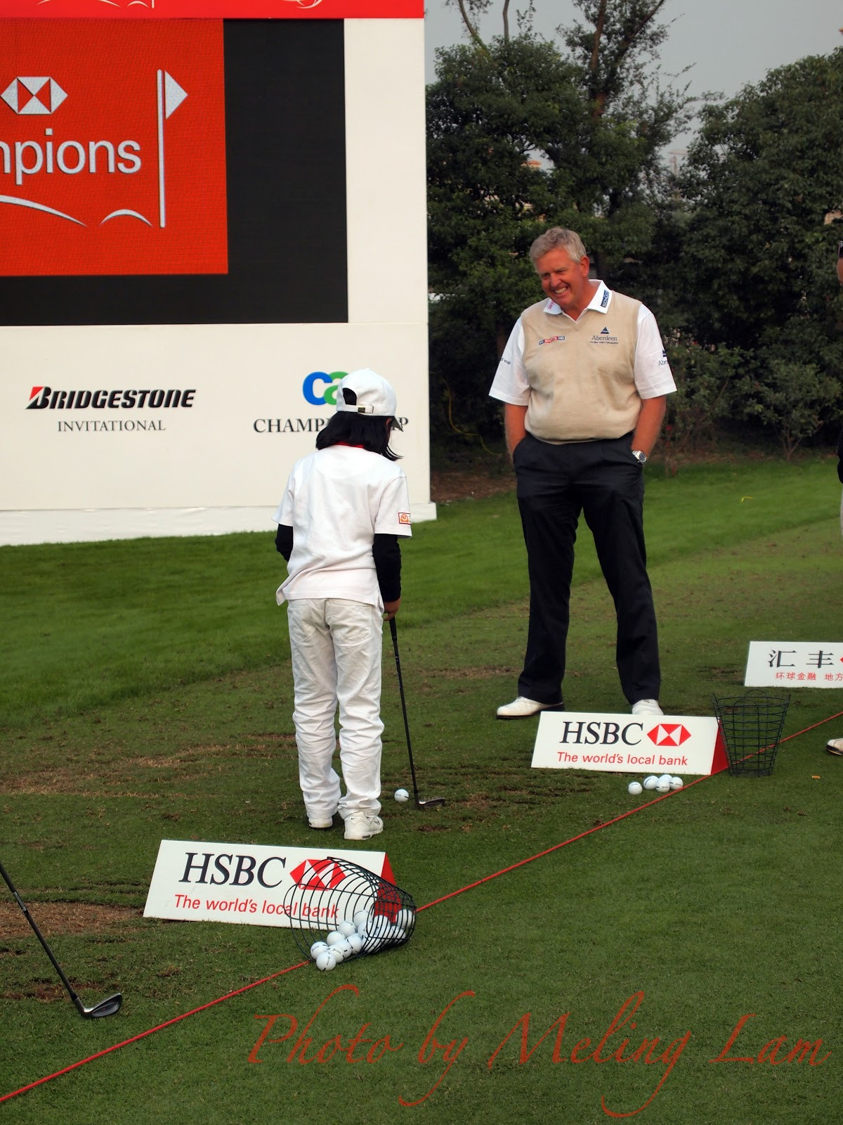 Colin Montgomerie monty wgc-hsbc golf champions pro-am Competition shanghai sheshan