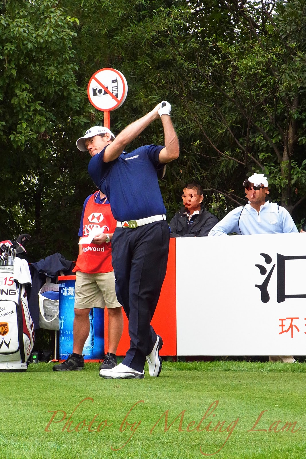 wgc-hsbc golf champions pro-am Competition shanghai sheshan lee westwood