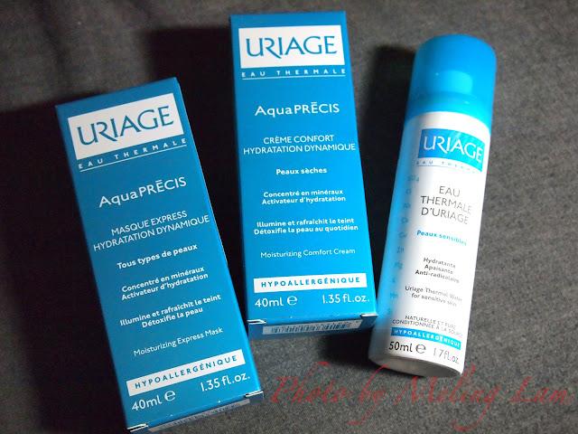 uriage 乾燥 補濕 補濕噴霧 補濕面膜 補濕精華 moisturizing mask comfort cream