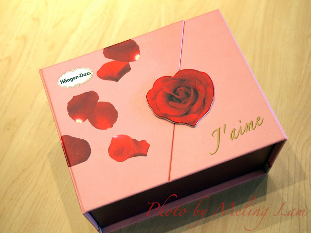 haagen dazs Häagen-Dazs love me valentine's day ice cream chocolate truffles j'aime gift box 情人節 手造雪糕朱古力禮盒