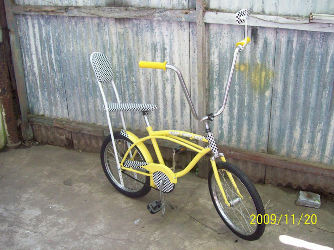 Bicicleta Estilo Vintage - Yellow Cab - para Pimp My Kid Palermo.