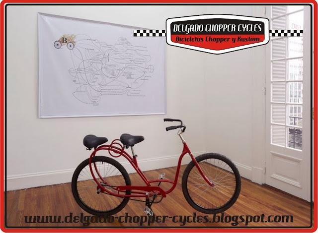 """Bicicleta Arte - para Artista Leandro Tartaglia."" DCC"