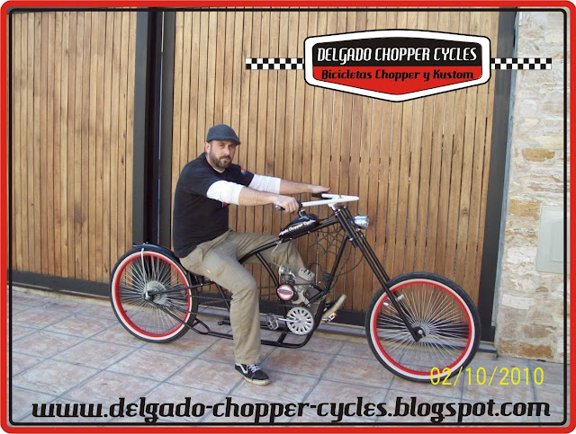 Bicicleta Chopper Spiderweb II 2010