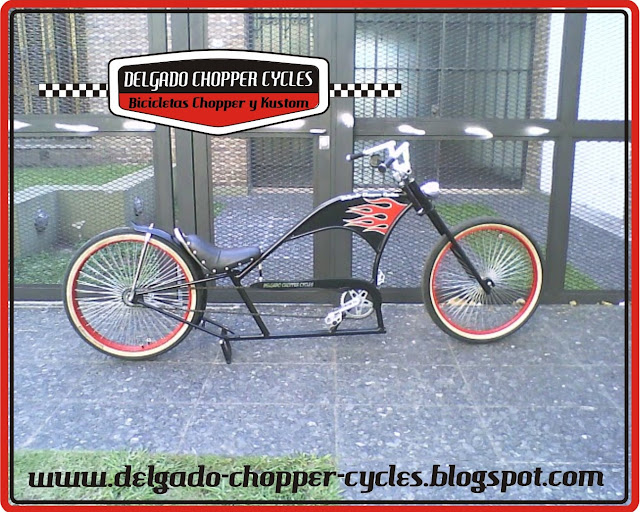 Bicicleta Chopper Old School II. DCC 2010