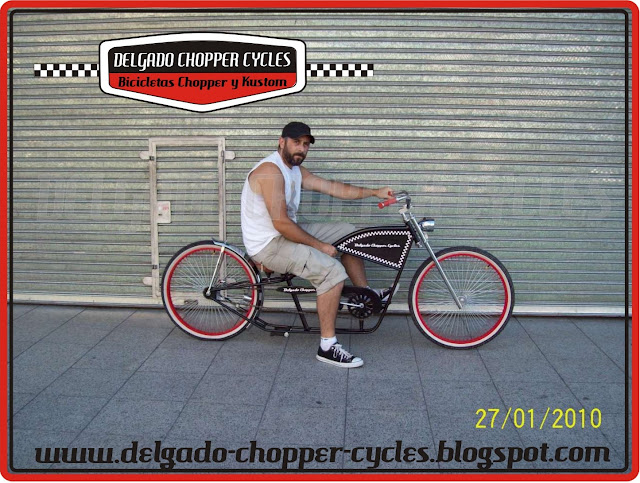 Bicicleta Chopper Hot Rod - DCC