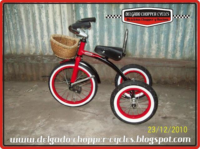 triciclo para nene/a Kustom Retro Vintage. DCC