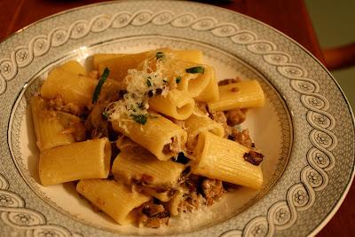 Rigatoni Treviso Recipe — Dishmaps