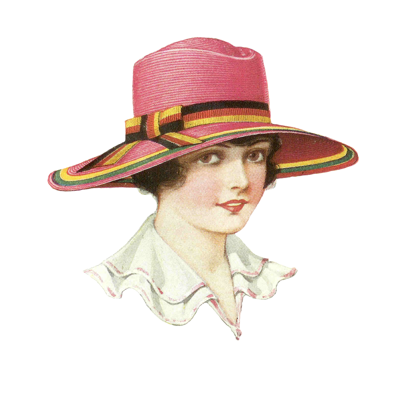 vintage hat clipart - photo #6