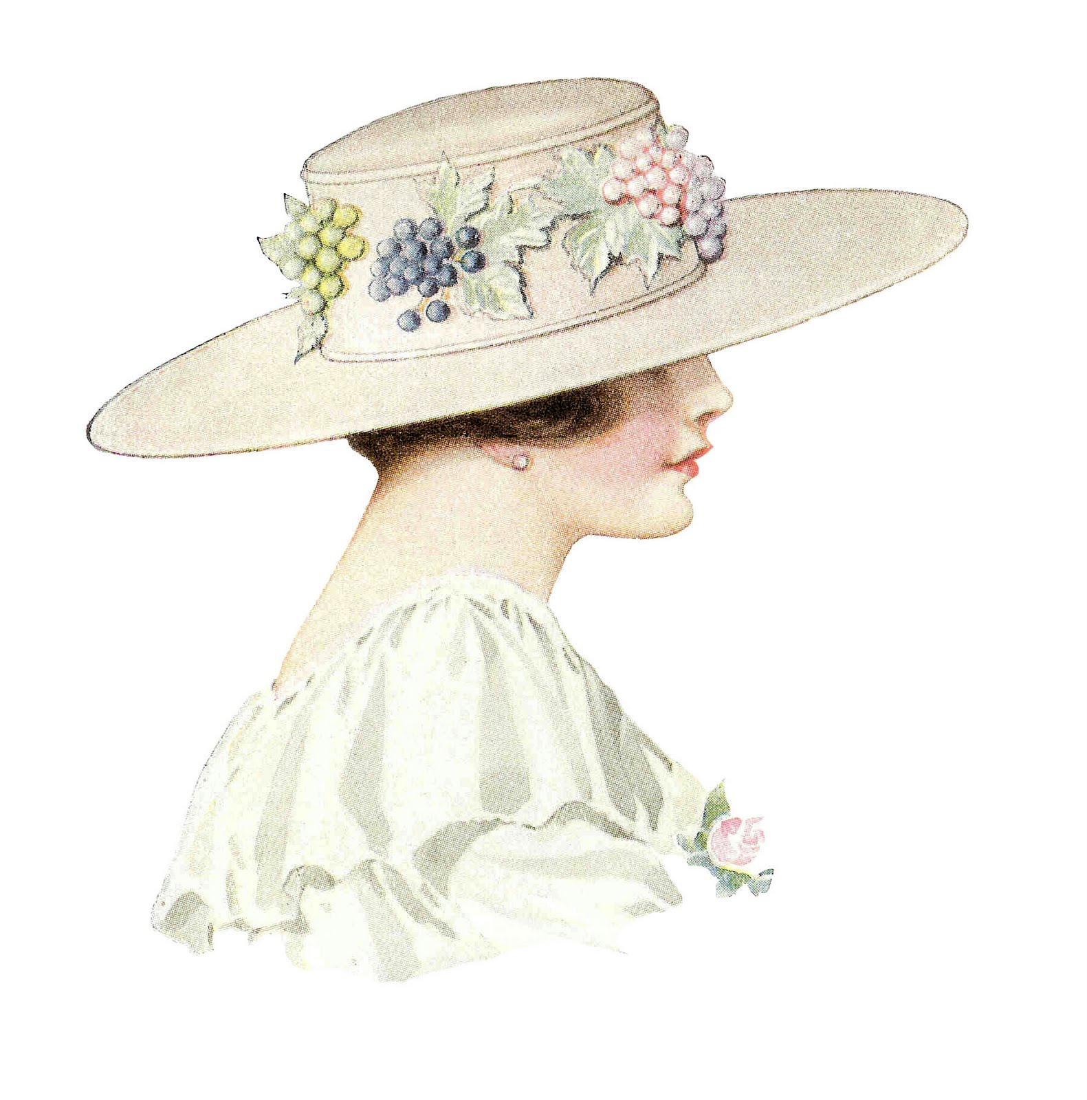 vintage hat clipart - photo #12