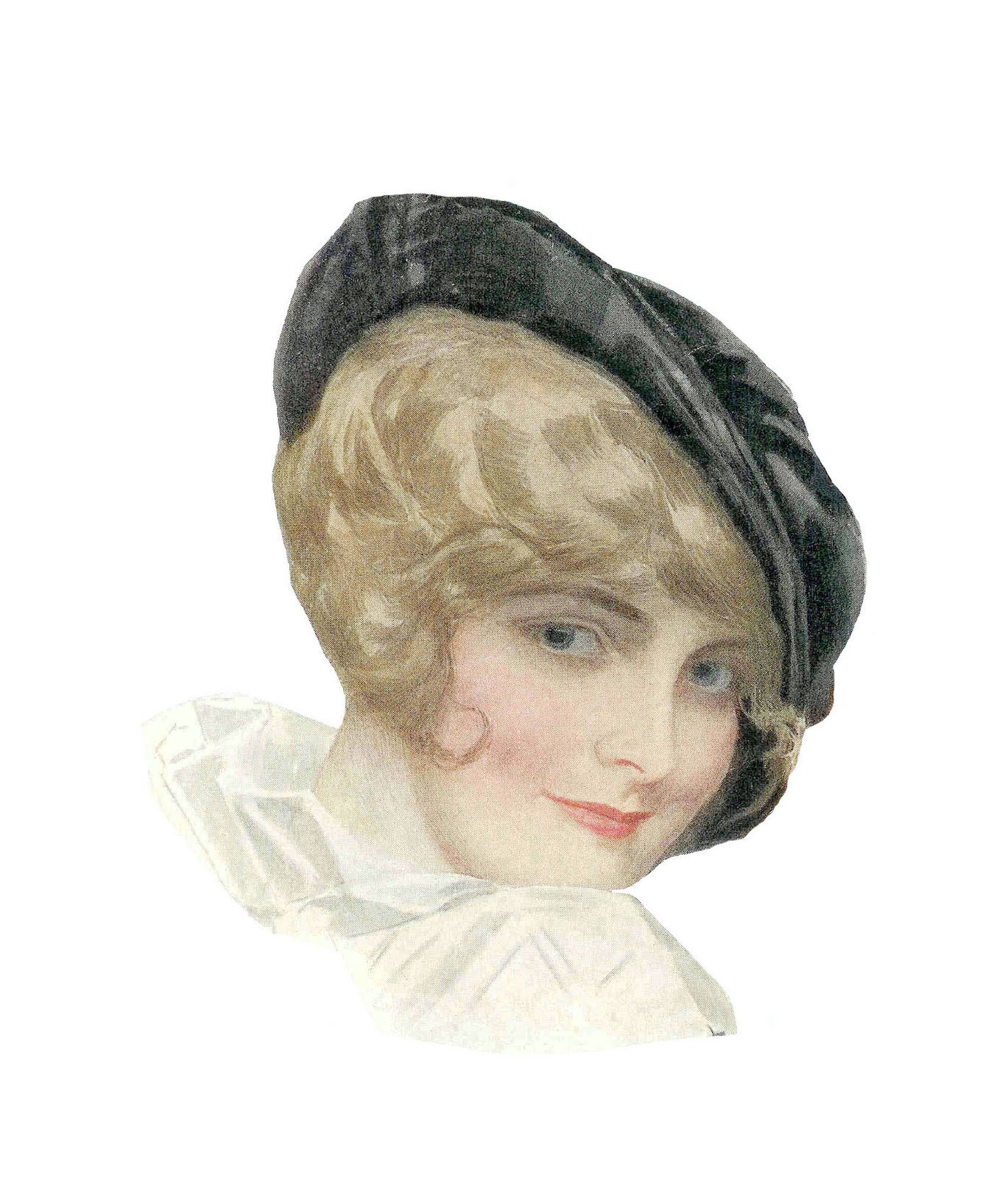 vintage hat clipart - photo #31