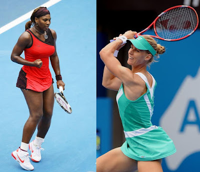 Black Tennis Pro's Serena Williams vs. Elena Dementieva Sydney International Final